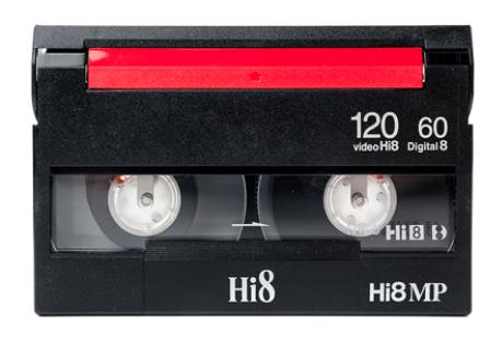 Digitaliseren Hi8 video CTHB