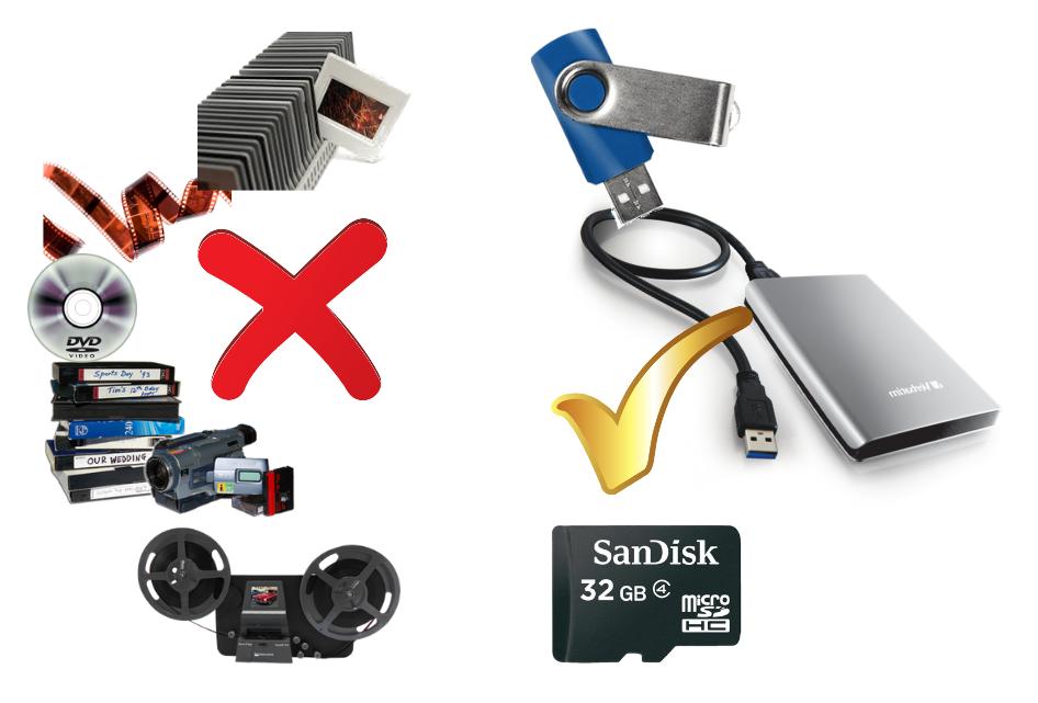 Digitaliseren oude video banden etc. CTHB