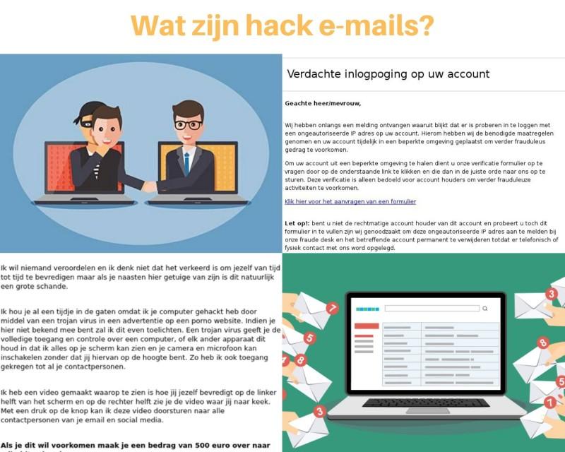 Hack emails